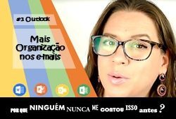 categorias no outlook