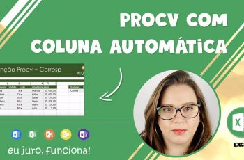 Aprenda a Fazer Procv com Corresp no Excel